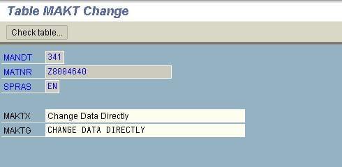 Change data 6
