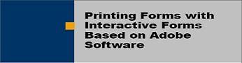 Printing Adobe Forms