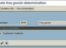 Determining Free Goods