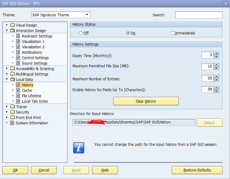 path-to-find-sap-history