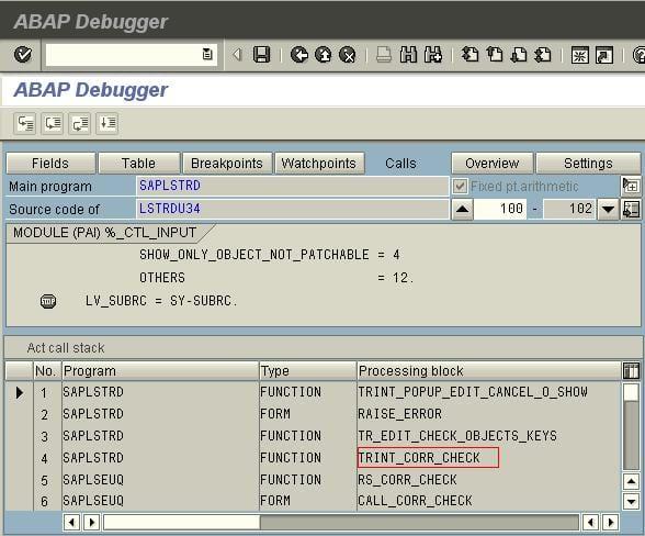 ABAP Debugger